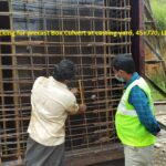 13.11.2020-Reinforcement checking for precast Box Culvert at casting yard, 45+770, LHS.
