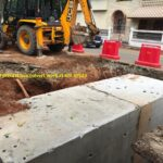 16.11.20-Errection of precast box culvert work at Km 99523 done, LHS.