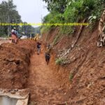17.11.20-shifting of drain road edge to Row edge is in progress ch.60+000 to 450