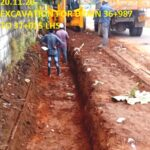 20.11.20-EXCAVATION FOR DRAIN 36+987 TO 37+015 LHS