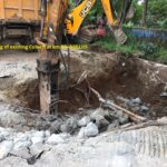 25.11.20-Dismantling of existing Culvert at km 99+948 LHS