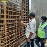 05.12.20-Reinforcement checking for Precast Box Culvert at Casting yard 45+770LHS