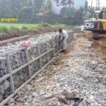 16.12.20-Gabion wall work in progress