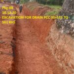 18.12.20-EXCAVATION FOR DRAIN PCC 33+525 TO 561 RHS