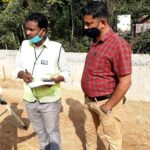 29.12.20-Subgrade Top Level checking at KM 59+600 to 59+700 RHS