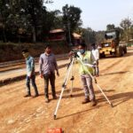 29.12.20-Subgrade Top Level checking at KM 59+600 to 59+700 RHS.