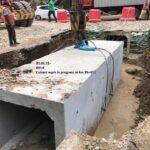 21.01.21- Culvert work in progress at km 95+411