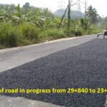 22.01.21-8A Patch work of road in progress from 29+840 to 23+000