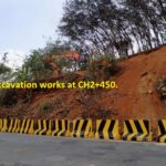22.01.21-Rock cutting Excavation works at CH2+450