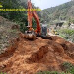 22.01.21-Rock cutting Excavation works at CH2+450.