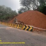 22.01.21-Rock cutting Excavation works at CH2+450..