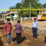 27.01.21-Subgrade Top preparation in progress at KM 57+000 to 57+100 LHS
