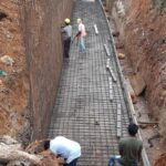 30.12.20-TOE WALL REINFORCEMENT WORK FROM 33+820 TO 33+845 LHS