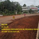 31.12.20-SUBGRADE PREPARATION IN PROGRESS FROM 35+200 TO 35+350 LHS.