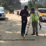 04.02.21-WMM Top level checking at KM 44+770 to 45+010 RHS