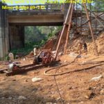 09.02.21-Piling work is in progress at abutment A2 for Minor Bridge 69+232