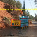 15.02.21-Earthwork and Rock cutting in progress at Km.2+600 and 2+450