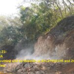 28.02.21-8A Rock cutting and Earthworks at Km.2+450 LHS and 2+600 RHS in progress