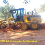 16.03.21-Ch 15+020 to 15+050 4 th layer grading for filling work