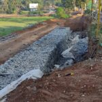 16.03.21-Gabion wall construction work in progress