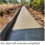 16.03.21-RCC Drain Raft Concrete completed at 46+610