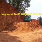 17.03.21-Earthworks in progress at 2+450 LHS 2+600 RHS,20+250.