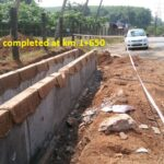 23.01.21-RCC Drain wall completed at km.1+650 RHS
