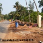 23.01.21-RCC Drain wall completed at km.1+650 RHS.