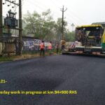 27.03.21-BC Overlay work in progress at km.94+900 RHS