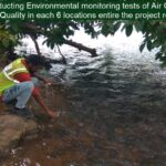 Package 8A-Conducting Environmental monitoring tests of Air Quality, Noise levels and Water Quality in each 6 locations entire the project road31-03-2021
