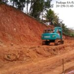 Package 8A-Earthworks in progress at 20+250-31-03-2021