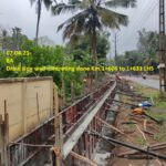 07.04.21-Drain side wall concreting done Km.1+606 to 1+631 LHS