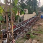 07.04.21-Drain wall concrete at Km.1+631 to 1+665 LHS