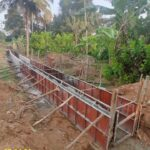 07.04.21-Drain wall concrete at Km.1+631 to 1+665 LHS.