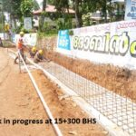 07.04.21-Drainage work in progress at 15+300 BHS