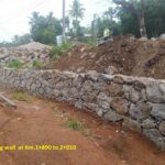 07.04.21-Retaining wall at Km.1+890 to 2+010