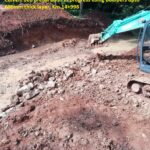 15.04.21-Culvert bed preparation in progress using boulders upto 600mm thick layer, Km.14+998.