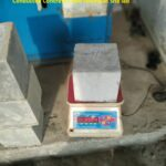 23.04.21-Conducted Concrete Cube testing at Site lab
