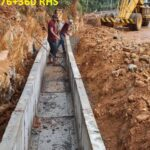 23.04.21-Drain erection at 76+280 to 76+360 RHS