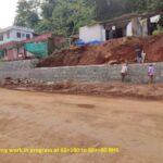 23.04.21-RR masonry work in progress at 68+160 to 68++80 RHS