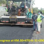 10.06.21-DBM Laying in progress at KM.30+470 to 31+390LHS