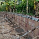 Package 8A-Deshuttering side wall at Km.6+441 to 6+454 RHS-07-06-2021