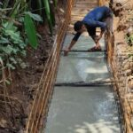 Package 8A-Drain raft concrete work at Km.6+511 to 6+518 RHS-31-05-2021