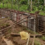 Package 8A-Drain wall shuttering work at km.1+810 LHS-22-05-2021