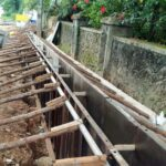 Package 8A-Drain wall work at km.24+080 RHS-31-05-2021