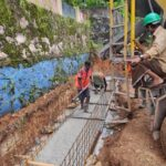 Package 8A-Raft concrete for drain CH 10+720-04-06-2021