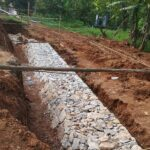 Package 8A-Retaining wall work at Km.24+640 RHS-31-05-2021