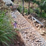 Package 8A-Retaining wall work at km.3+133 to 3+160 LHS-05-06-2021